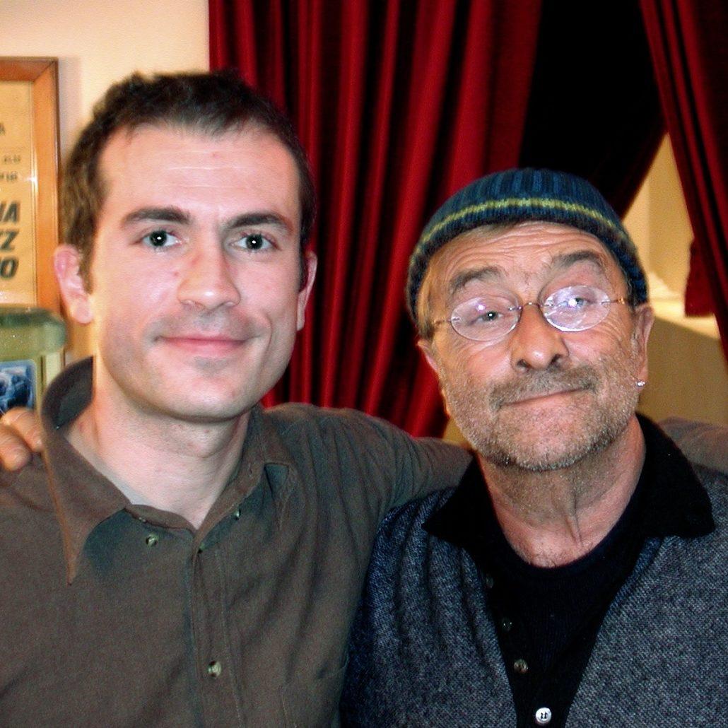 Giuliano Ciabatta e Lucio Dalla